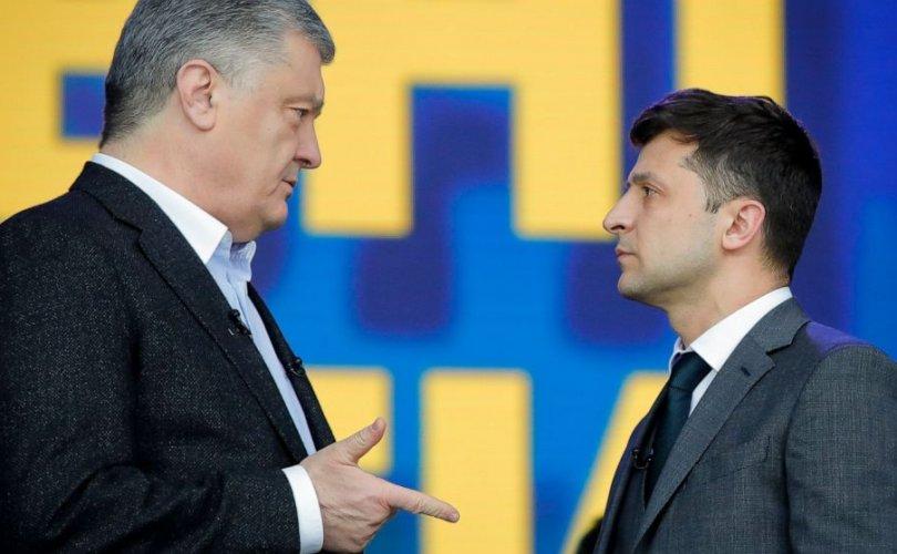 Украинд Ерөнхийлөгчийн сонгуулийн хоёрдугаар шат эхэллээ