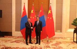 Ерөнхийлөгч Х.Баттулгад БНХАУ-ын Төрийн зөвлөлийн Ерөнхий сайд Ли Көчян бараалхав
