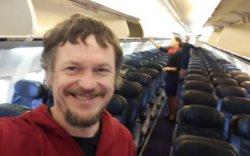"""""""Боинг 737"""" онгоцны цорын ганц зорчигч"""