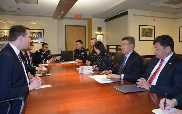 АНУ Монголын Зэвсэгт хүчнийг бэхжүүлэхэд дэмжлэг үзүүлнэ