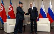Путин Ким нар ганцаарчлан уулзаж байна