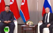 LiveПутин Ким Жон Ун нарын түүхэн дээд хэмжээний уулзалт эхэллээ