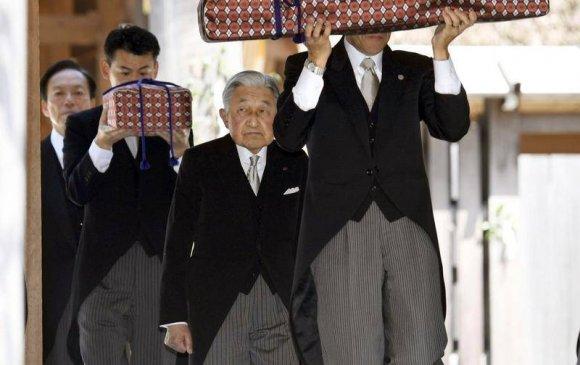 Акихито хаан сэнтийгээсээ буух хүсэлтээ бурханд уламжилжээ