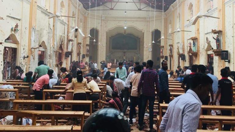 Шри Ланкад амиа золиослогчид бөмбөг дэлбэлж 100 гаруй хүн амиа алдлаа