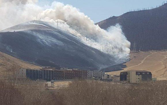 Богд ууланд гарсан түймрийг унтраав