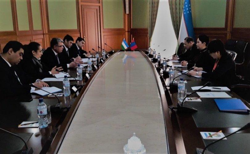 Монгол, Узбекистаны ГХЯ хоорондын ээлжит зөвлөлдөх уулзалт болов