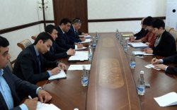Б.Батцэцэг Узбекистаны хөдөө аж ахуйн сайдтай уулзав