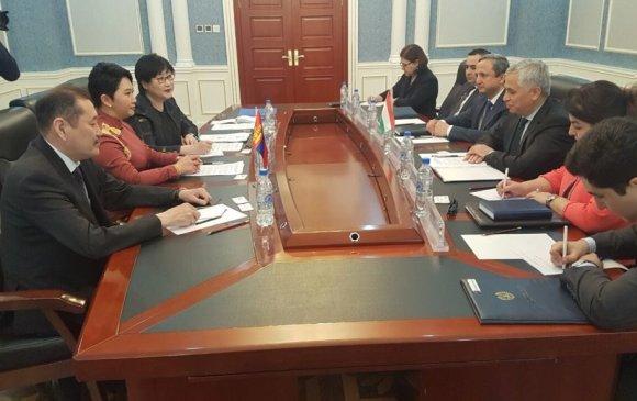Монгол, Тажикистаны ГХЯ хоорондын ээлжит зөвлөлдөх уулзалт болов