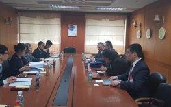 ГХЯ-ны консулын газрын захирал БНСУ-ын ГХЯ-ны удирдлагуудтай уулзлаа