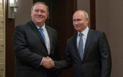 Путин, Помпео нар хэлэлцээ хийв
