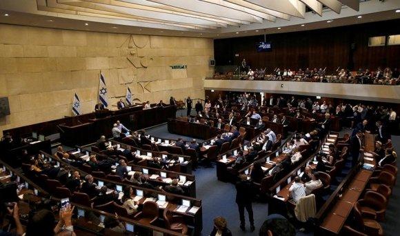 Израилын парламент өөрөө тарлаа