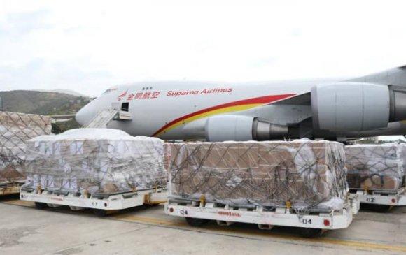 Хятадын хүмүүнлэгийн тусламж Венесэулд хүрлээ