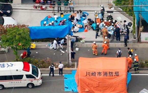 Японд хутгатай этгээд 19 хүн шархдуулж, нэг хүний аминд хүрчээ
