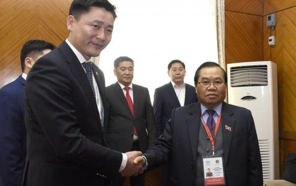 Ази, Номхон далайн бүсийн чуулганд оролцож буй төлөөлөгчдийг УИХ-ын гишүүд хүлээн авч уулзлаа