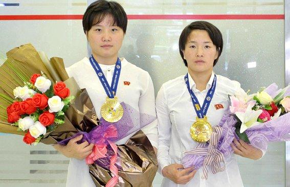 Ардчилсан Солонгост жүдочдоо хүндэтгэлтэйгээр угтан авчээ