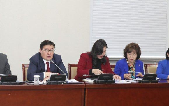 """""""Монгол Улсын хөгжлийн тулгамдсан асуудлууд"""" хэлэлцүүлэгт УИХ-ын дарга үг хэллээ"""