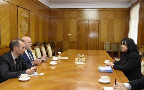 НҮБ-ын тусгай илтгэгч Мишель Фросттой уулзлаа