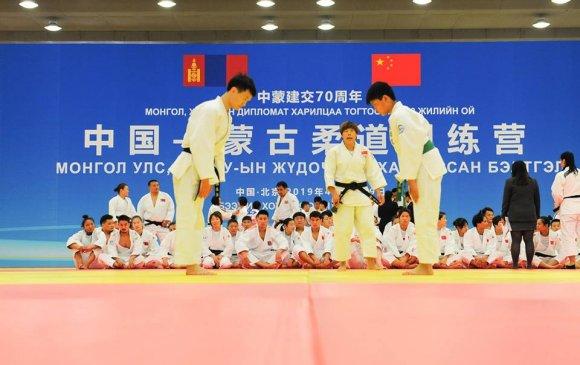 Хятад, Монголын жүдочдын хамтарсан бэлтгэл Бээжинд болов