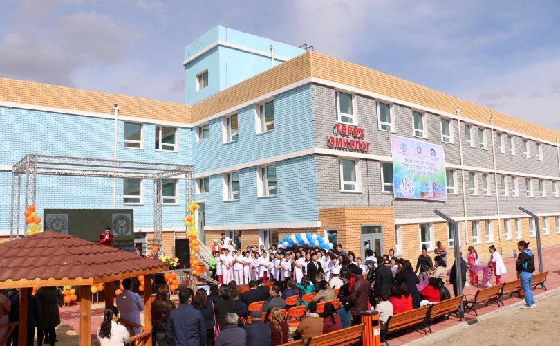Дархан-Уул аймагт 50 ортой шинэ төрөх эмнэлэг ашиглалтад орлоо