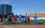Монголын баг хөлбөмбөгийн ДАШТ-ий урьдчилсан шатны тоглолтод бэлдэж байна