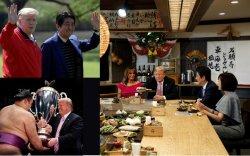 Дональд Трампын сүмо, гольф, сельфитэй Япон дахь айлчлал
