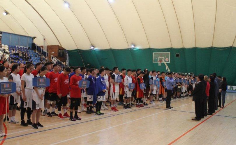 Орос дахь монголчуудын сагсан бөмбөгийн аварга шалгаруулах тэмцээн амжилттай болж өндөрлөв