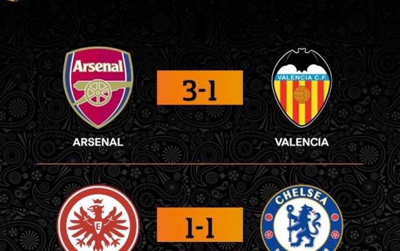 Европа лигийн хагас шигшээгийн эхний тоглолт боллоо