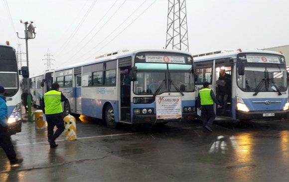 Нийтийн тээврийн үйлчилгээний газрын ажилтнууд ААН байгууллагуудад ажиллалаа