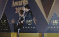 """""""Forbes Mongolia Awards 2019"""" ёслолын """"Худалдааны шилдэг компани""""-аар Номин Холдинг ХХК шалгарлаа"""