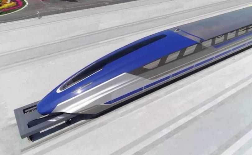 Хятад улс цагт 600 км хурдалдаг галт тэрэг танилцуулав