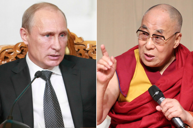 Путин: Далай ламыг ОХУ руу нэвтрэхийг хориглоогүй
