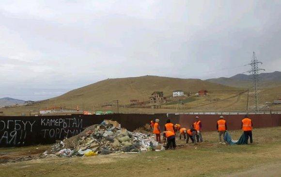 Бүх нийтийн их цэвэрлэгээгээр 851,8 тн хог хаягдлыг цэвэрлэлээ