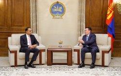 Г.Занданшатар Ахмед М.Саийдыг хүлээн авч уулзав