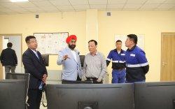 М.П.Сингх: Газрын тос боловсруулах үйлдвэрийн дэд бүтцийн ажлын явц сайн байна