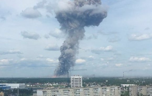 ОХУ-ын Зержинск хотод үйлдвэр дэлбэрч, онц байдал зарлажээ