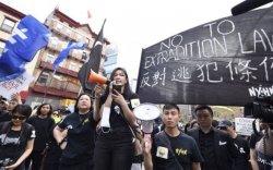 АНУ-ын их сургуулиудад Хонгконгийг дэмжиж жагсав