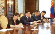 ОУВС-гийн Монгол Улсыг хариуцсан ажлын хэсгийн ахлагч Жэфф Готтлийбийг хүлээн авч уулзав