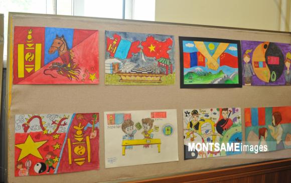 Монгол, Хятадын найрамдлын зургийн уралдааны шилдгүүд тодорлоо