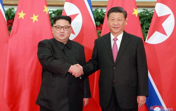 Ши Жиньпин, Ким Жон Ун нар хэлэлцээ хийв