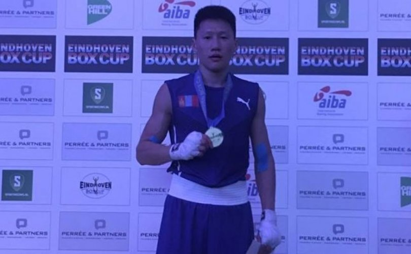 """Б.Мишээлт """"China open-2019"""" тэмцээнээс алтан медаль хүртлээ"""