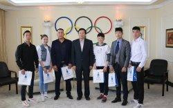 Монгол, БНСУ-ын боксчид хамтарсан бэлтгэл хийж байна
