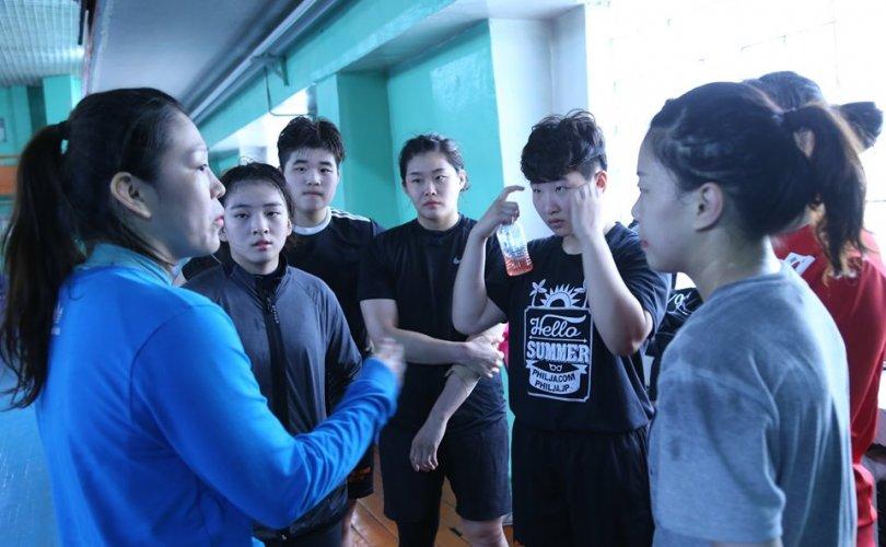 Монгол, Хятад БНСУ-ын тамирчид хамтарсан бэлтгэл хийж байна