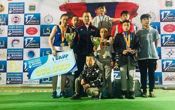 Олон улсын тэмцээнээс хоёр алтан медаль хүртэв
