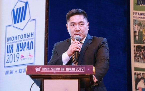 МХБХ-ны ерөнхийлөгчөөр А.Ганбаатар улиран сонгогдлоо