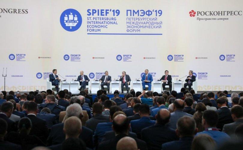 Ө.Энхтүвшин Петербургийн олон улсын эдийн засгийн чуулга уулзалтад оролцов
