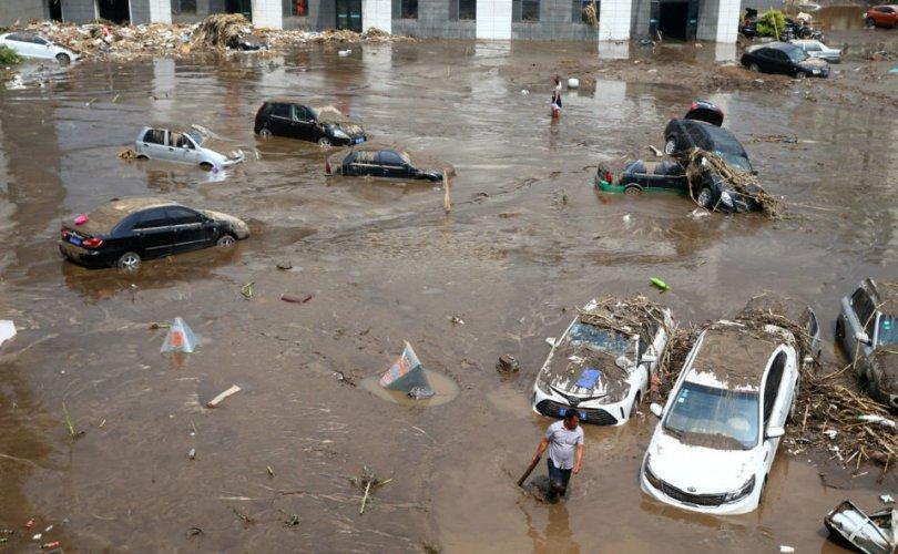Хятадад нүүрлэсэн их үерт хоёр сая гаруй хүн өртжээ