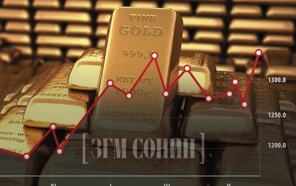 Энэ оны эдийн засгийн бамбай нь алт