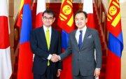 Японы Гадаад хэргийн сайд Коно Таро: Монголын ард түмэнд талархлаа