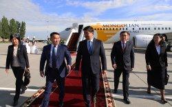 Ерөнхийлөгчийн Бүгд Найрамдах Киргиз улсад хийх албан ёсны айлчлал эхэллээ