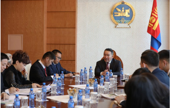 Х.Баттулга БНХАУ-ын Цөлжилтийг бууруулах сангийн төлөөлөгчдийг хүлээн авч уулзав